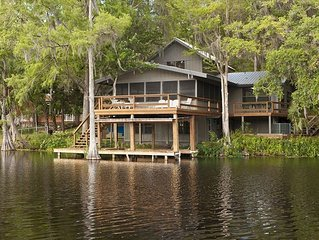 Charming Withlachoochee River Home Hidden Among Nature.