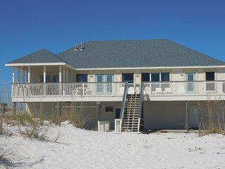 Direct Gulf Front 4 Bedroom Large Balcony Open Concept Views Views Home