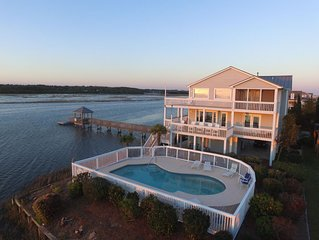 Ocean Isle Beach 5 BR Home with Private Pool, Amazing View