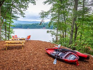 Late Summer Dates Still Open, Lakefront with Private Dock & kayaks!