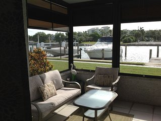 Groundfloor, Waterfront Condo.. Steps from the Beach