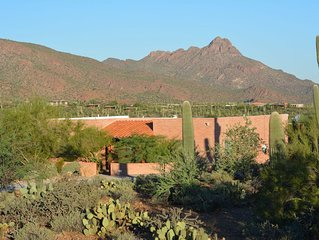 Adjacent to Saguaro National Park - Horse Facilities Available