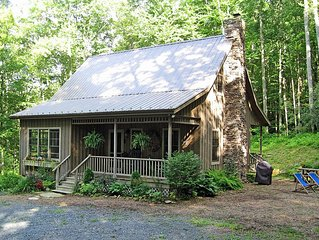 Valle Crucis - Wooded privacy yet 3 miles from Mast Gen Store - see our reviews!