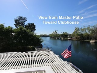 LAKE HOUSE with BOATS and AMENITIES near Ocean and Disneyland