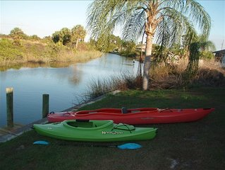 CANAL,  HEATED POOL,  BOAT , BEAUTIFUL HOME** MARCH OPENINGS **