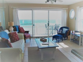 Gulf Front/west end unit panoramic views/sunsets from unit!! November openings!!