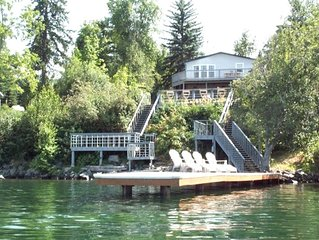 Waterfront Lighthouse Villa Great Location 5 Min to Sandpoint