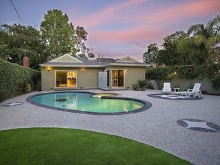 Hollywood Pool Home w/ Private Guest/Pool House. WALK TO UNIVERSAL STUDIOS!!!