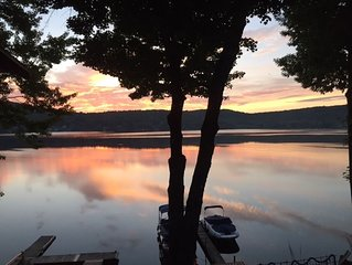 Lake Side Cottage With Private Dock, Copake Lake, NY
