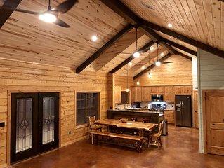 Brand New Authentic Luxury Log Home