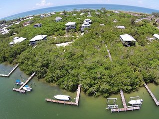 Boat access only rental on private island