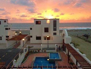 Pacific Beachside Luxury Villa#6, Puerto Cayo, Ecuador, near Manta