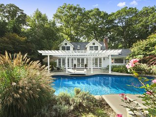 * East Hampton * Luxury Vacation Oasis near the Beach *