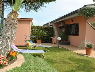 VILLA MAGNOLIA Near the beach with gorgeous garden not far from Sperlonga