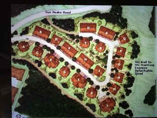 Sun Peaks - 2 Bedroom, 2.5 Bath, Ski In / Out, Townhouse, Trail's Edge 23, Bld H