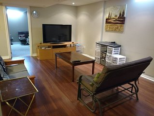 Spacious custom basement apartment centrally located in Mississauga, ON.