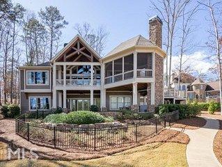 Masters Week - Luxury 6 BR Lakefront Home w/Spa in Harbor Club on Lake Oconee