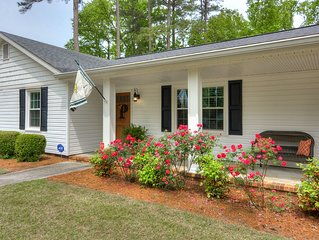Masters/Ironman 4bed/3bath, 3 MINUTES to Augusta National, RECENT COMPLETE RENO