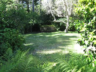 Serenity In The Gulch Only 5 Minutes From Historic Mendocino Village