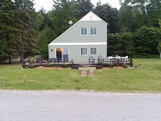 Summer 2020 Rates Live! Enjoy 80 Ft of Private Beach at this Updated Cottage