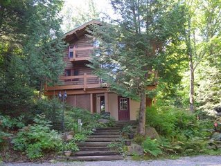 Welcome to the Eagle's Nest!  Ski & Mountain Bike Paradise Perched in the Trees