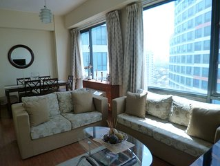 Spacious 1BR condo in Eastwood City