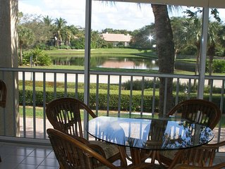 Naples Beach access  from spacious lake view condo in Pelican Bay