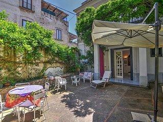 Villa Solidea A: Un gradevole appartamento che e parte di una villa su due piani