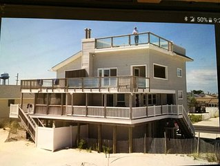 4-story Ocean Front Home with direct access to the beach. Fun fun fun!!!!