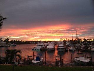 Beautiful Waterfront Villa with Boat Slip and Marina View