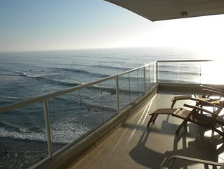 Beautiful Oceanfront Condo With 750 Square Foot Wrap Around Balcony