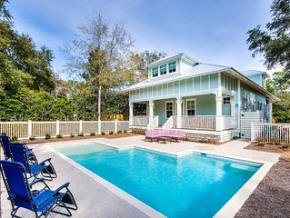 Old Salty 30A - Luxury Beach House in Seacrest, Private Pool, Walk to Beach