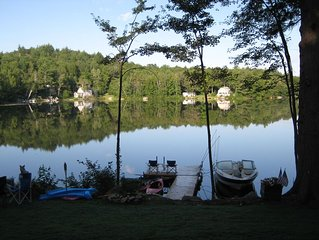 Wonderful waterfront home on Crescent Lake in Acworth/Unity NH.