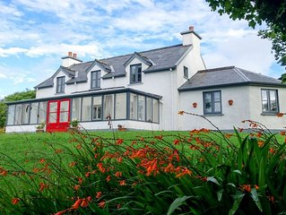 Beautiful Country Home located on 31 acres overlooking Bearhaven Harbour