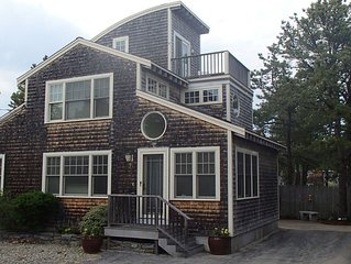Beautiful Kinney Shores Beach House ~ steps to pristine 7 mile sandy beach!