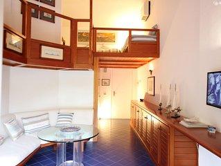 Yacht House -rifinito appartamento a Porto Ercole con terrazzo e 3 camere letto