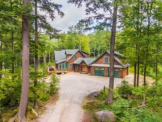 Brookside Family Retreat with Waterfall & Hot Tub (6 night minimum)