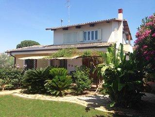Villa Lucia ubicata in un oasi di pace in una provincia ricca di archeologia.