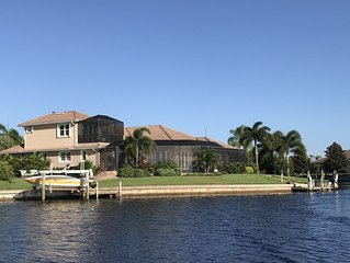 Extraordinary Waterfront Custom Home In Punta Gorda Isles