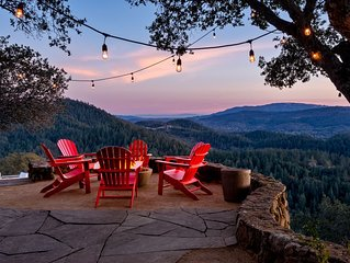 Napa/Sonoma Mntn Top Estate.  VIEWS!   August Monthly Available at a discount