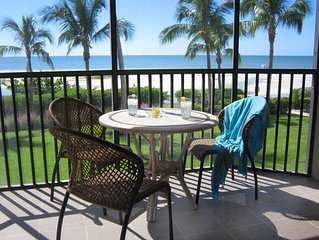 Beach Front- End Unit Condo with Private Garage Parking-Fort Myers Beach, ~FL~