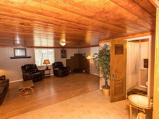 WAE Outdoors Inc. Cabin #3 Honeymoon Cabin