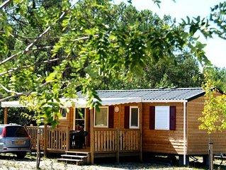Camping Landes Océanes**** - Mobil Home 3 Pièces 4/6 Personnes