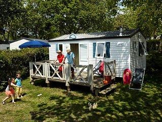 Camping De L'Eve **** - Mobil Home Riviera 3 Pièces 4 Personnes