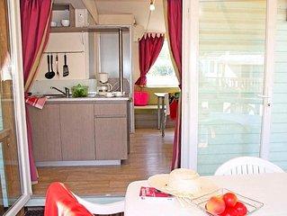 Camping La Vallee Du Paradis **** - Mobil Home Idaho 3 Pieces 4 Personnes