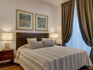 DELIZIOSO, arredato con stile,tutti i comfort,8 min.dal Vaticano.Casa Benedetto