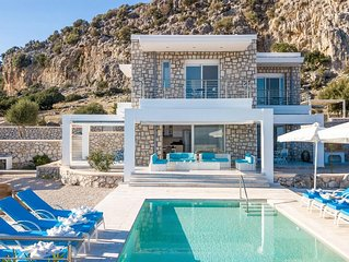 Lindos Destiny Luxury Villa Horizontes with heated Private Pool and Sea Views!