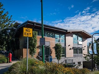 Modern luxurious townhome in the heart of Deep Cove