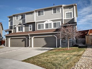 Modern Castle Rock home to gather with friends and family, close to CO Springs