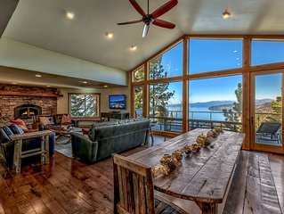 Renovated Luxury - new mountain decor, secluded, lake view, hot tub, pool table
